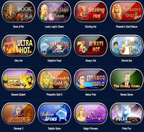 Залы бесплатных игровых автоматов